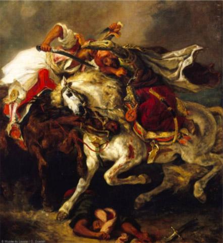 Visite imaginaire chez Eugène Delacroix