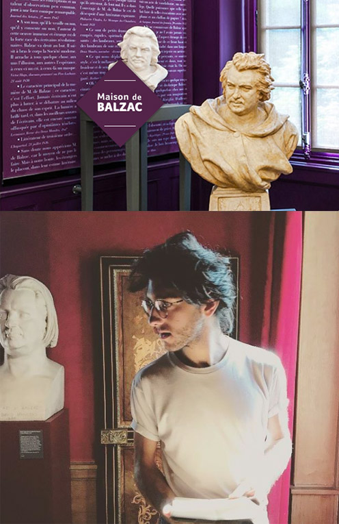 Visite imaginaire chez Balzac